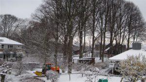 Vinterdag i Kirsebærgården